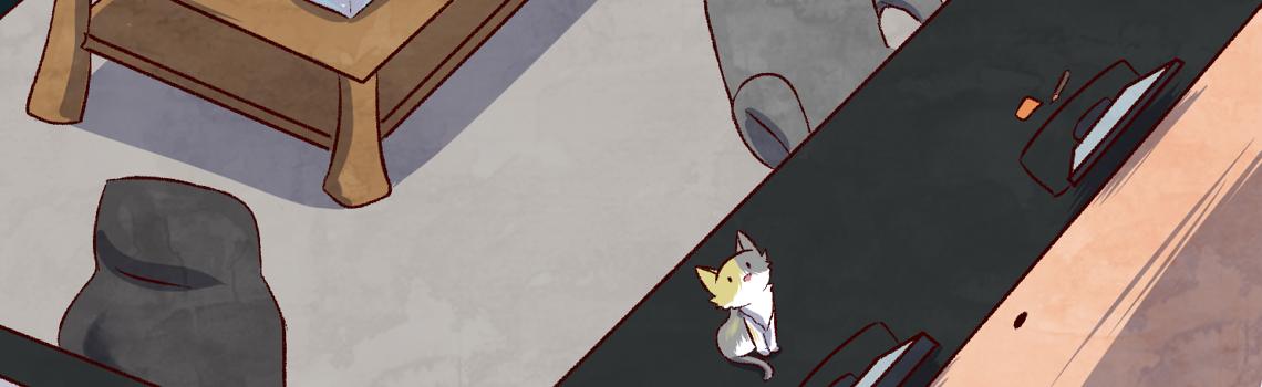 Une Araignée au plafond